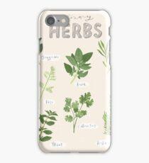 Culinary Herbs iPhone Case/Skin