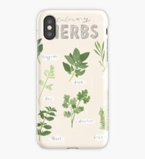 Culinary Herbs iPhone Case
