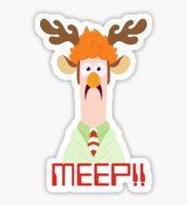 Meep Meep! Sticker