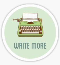 Write more Sticker