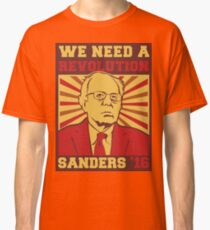 Bernie Sanders - We Need a Revolution Classic T-Shirt