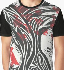 Wisdom of Trees - Red Raven Graphic T-Shirt