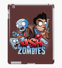 Ash vs Zombies iPad Case/Skin
