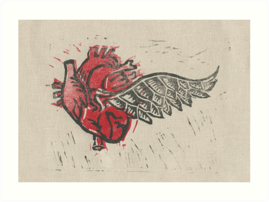 As the heart flies by Stacie Arellano