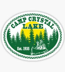 Camp Crystal Lake Sticker