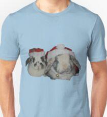 Christmas Rabbits Unisex T-Shirt
