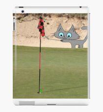 Golfing Kitty iPad Case/Skin