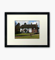 Dorset Thatch Framed Print