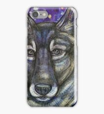 Gray Wolf iPhone Case/Skin