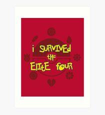 I Survived the Elite Four Art Print