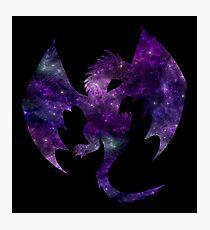 Galaxy Dragon Photographic Print