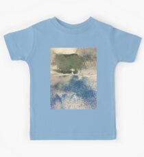 Smudges in Oil Pastel Kids Tee