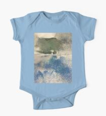 Smudges in Oil Pastel One Piece - Short Sleeve