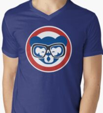 Hey, Hey! Cubs Win! Men's V-Neck T-Shirt