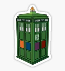 Teenage Mutant Ninja TARDIS (T.M.N.T.A.R.D.I.S.) Sticker