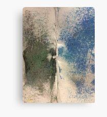 Smudges 2 in Oil Pastel Canvas Print