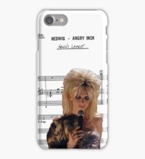 Hedwig's Lament ~ Hedwig and the Angry Inch ~ Sheet Music Collection iPhone Case/Skin