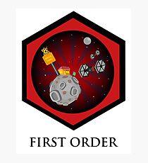 First Order - Drive Thru in the Galaxy Far Far Away Photographic Print