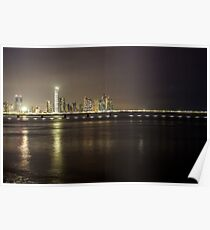 Panama's skyline picture Poster