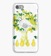 Partridge in a Pear Tree iPhone Case/Skin