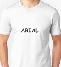 ARIAL COMIC IRONY Unisex T-Shirt