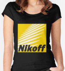 Nikoff  Women's Fitted Scoop T-Shirt