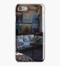 Monet's studio iPhone Case/Skin
