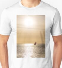 Red Sails in Gold Light Unisex T-Shirt