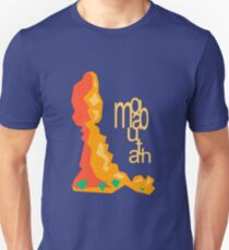 Balanced Rock Illustration Moab Utah Unisex T-Shirt