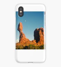 Balanced Rock Holga Style Photograph iPhone Case/Skin