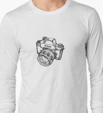 Nikon F Classic Film Camera Illustration T-Shirt