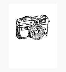 Canon Canonet QL17 GIII Rangefiner Camera Photographic Print