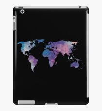geometric watercolor continent iPad Case/Skin