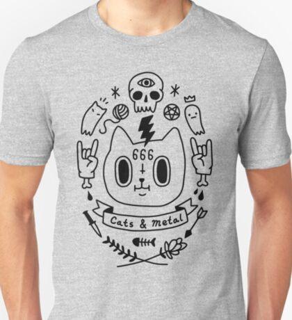 Cats & Metal T-Shirt