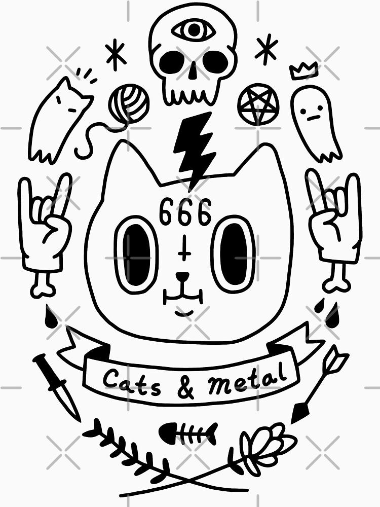 Cats & Metal by obinsun