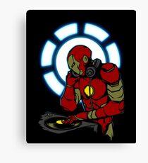 IRON DJ Canvas Print