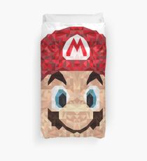Mario Triangle Art Duvet Cover