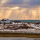 Sunday Point Sunset by Debbie  Roberts