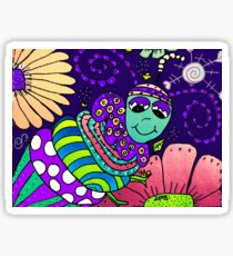 Spring Night in Mo's Garden Sticker