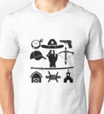 The Walking Dead - Symbols T-Shirt