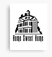 Haunted Home Sweet Home Canvas Print