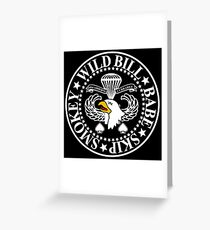 Band of Brothers Crest Greeting Card
