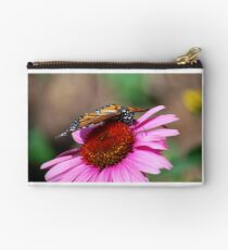 Monarch on a Coneflower Studio Pouch