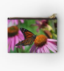 Monarch on Coneflowers Studio Pouch