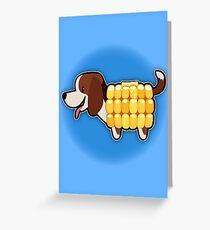 CornDog! Greeting Card