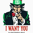 Uncle Sam I want you to start thinking about accessible exit signs in all buildings by Egress Group Pty Ltd