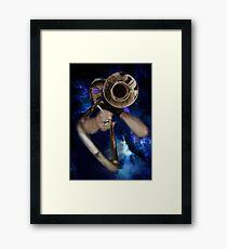 Trombone  Framed Print