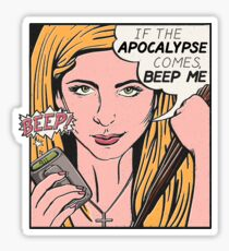 Pop Art Slayer Sticker