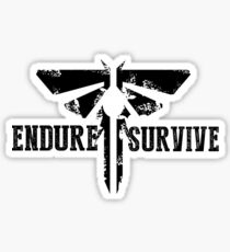 "The Last of Us ""Endure and Survive"" Firefly Emblem Sticker"