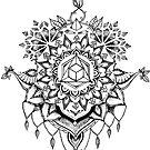 Geometrische Mandala von Emilie Desaunay